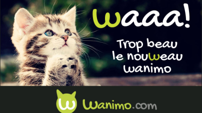 La nouvelle version du site Wanimo