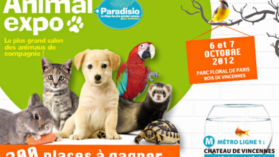 Le salon Animal Expo 2012
